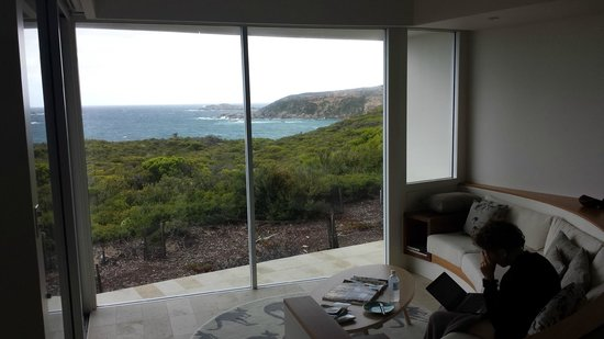 Southern Ocean Lodge : view from room