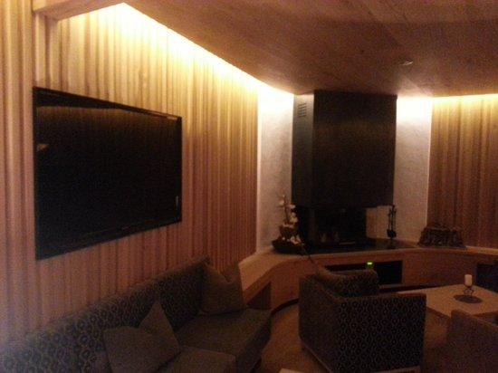 Hotel Stella : Sala tv