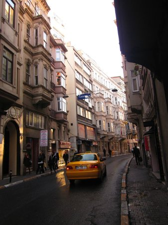 Vardar Palace Hotel : The street the hotel located in