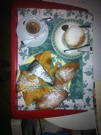 Hotel Marco Polo: colazione in camera