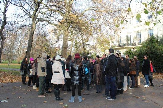SANDEMANs NEW Europe - London: Park