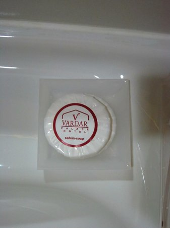 Vardar Palace Hotel: Small soap