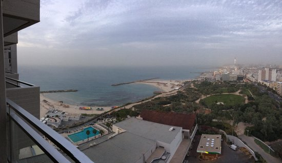 Hilton Tel Aviv : View from my room!