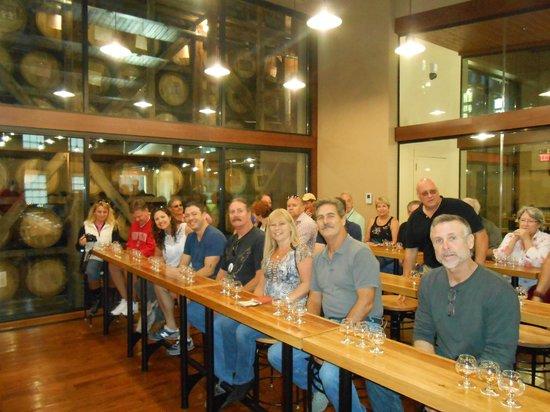 Mint Julep Tours : One of many bourbon tastings among friends