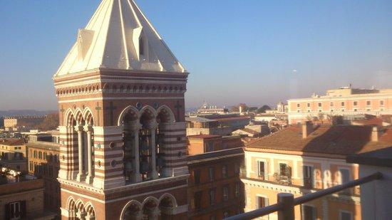 La Griffe Roma - MGallery By Sofitel: Vista desde la Terraza Planta 10ª