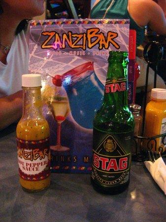 Zanzibar Restaurant: Ambiente jovem