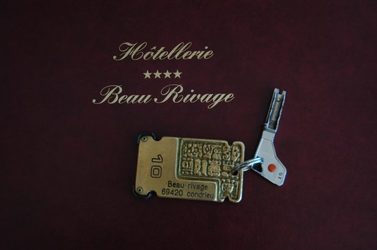 Le Beau Rivage: Room Key