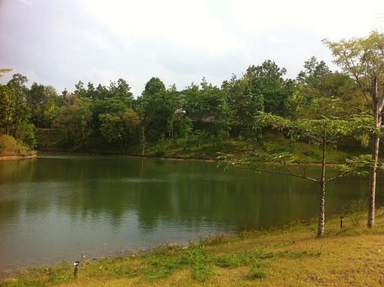 Jirung Health Village: One of the lakes on property