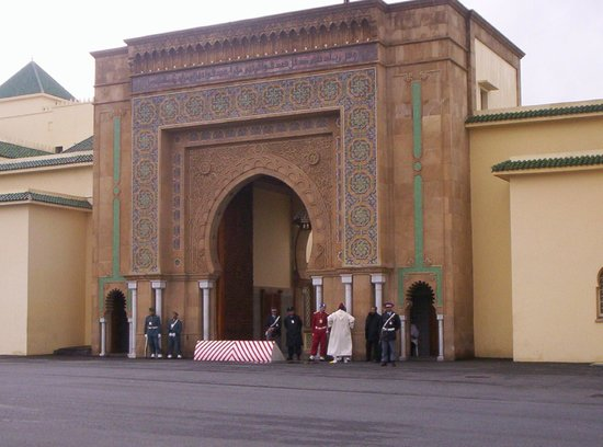 Royal Palace of Rabat: ingresso