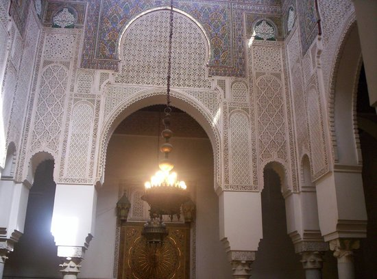 Mausoleum of Mouley Ismail: Interno