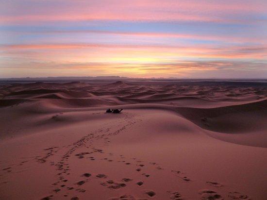 Kasbah Erg Chebbi: tramonto