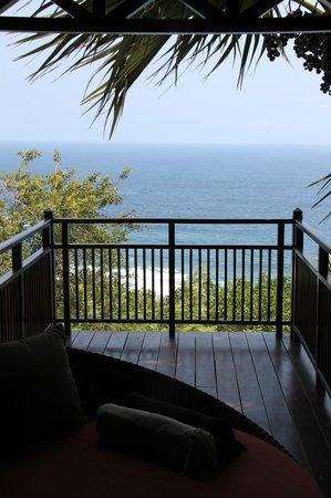 PALM Hotel & Spa: Depuis la terrasse du lodge