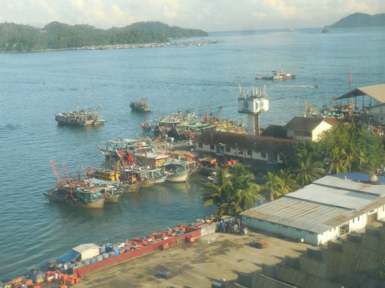 Le Meridien Kota Kinabalu: view from room