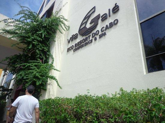Vila Galé Cerro Alagoa: entrada do hotel
