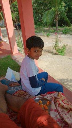 Gowri Resort: he was the happiest :)