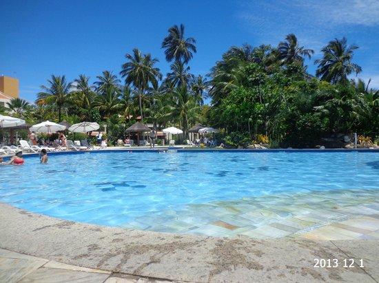 Vila Galé Cerro Alagoa: linda vista da piscina
