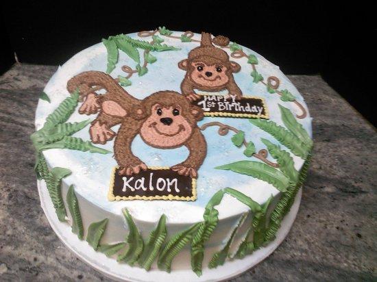 Swiss Chalet Bakery: time to monkey around
