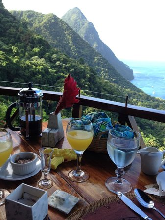 Ladera Resort: View from breakfast