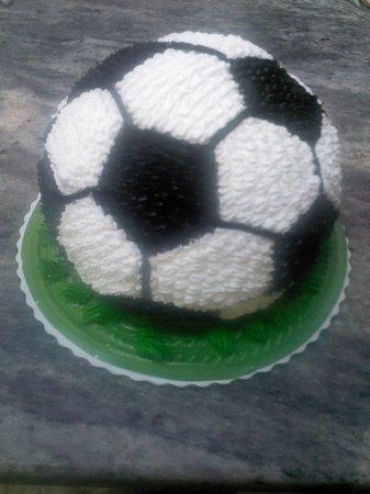 Swiss Chalet Bakery: a soccer ball for kicks