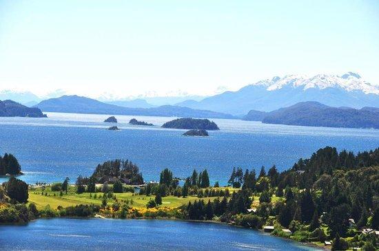 Bariloche Anglers: Vista lago Nahuel Huapi Punto Panoramico
