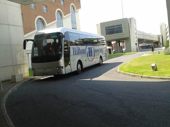 Hilton Rome Airport Hotel: ônibus grátis para a região central de roma