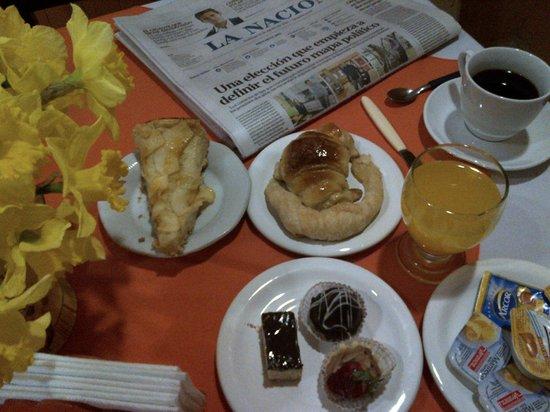 Biarrizt Hotel B&B: desayuno