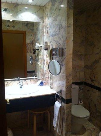 Hotel Horus: Baño habitacion doble