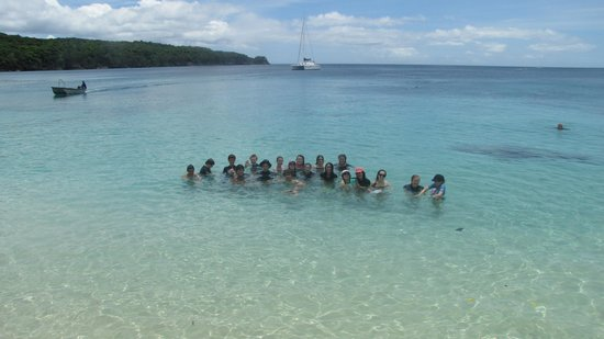 Tranquillity Island Resort & Dive Base: Coongoola Beach day trip