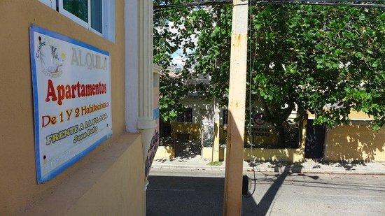 Caribe Paraiso Juan Dolio : The entrance nearby ...