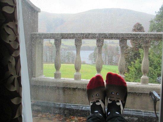 Macdonald Leeming House, Ullswater : View from Room 1 lounge balcony