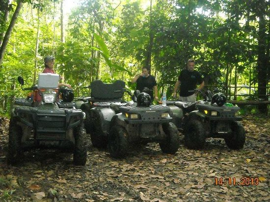 ATV Paradise Tours: Juice stop