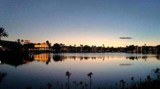 Disney's Coronado Springs Resort: Sunset
