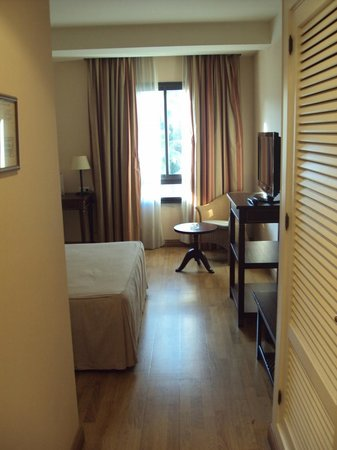 Hotel Guadacorte Park: Habitación doble estándar.