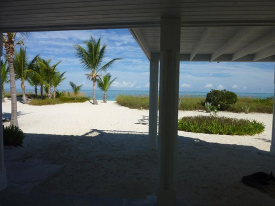 Aquamarine Beach Houses: view from our porch