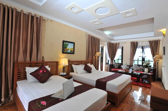 Sapa Eden Hotel: Family Suite with moutain view