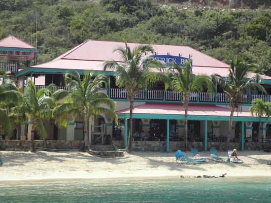 The Restaurant at Leverick Bay: Schöner Ort hier auf der Fetten Jungfrau