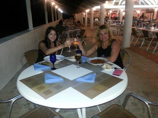 """Viva Wyndham Dominicus Beach: En el restauran """"la Roca"""""""