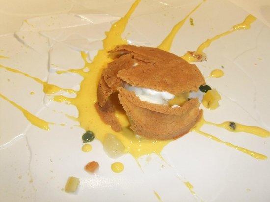 Osteria Francescana : Ooops....e caduta la crostata