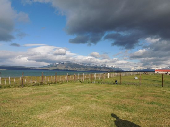 Bories House Hotel : Vista del Hotel a la Patagonia