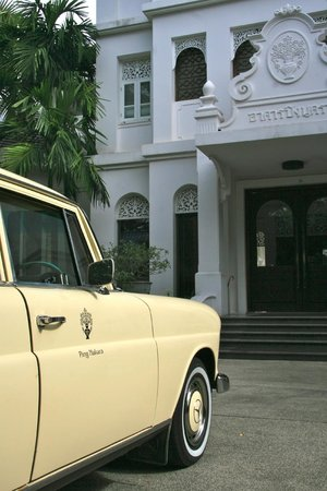 Ping Nakara Boutique Hotel & Spa : Classic car...classic style:Ping Nakara!