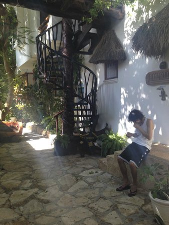 Posada Yum Kin: Outside reception