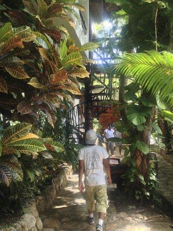 Posada Yum Kin : Walking through the hotel