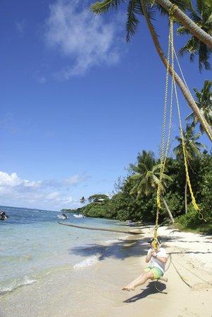 Makaira Resort: Beach is rarely occupied