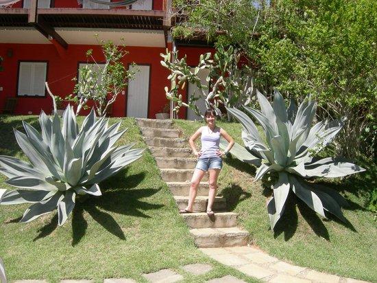 Pousada Vila Pitanga: Con la hermosa vegetacion