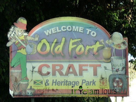 Jamaica Country Tours: Montego Bay Old Fort Craft market