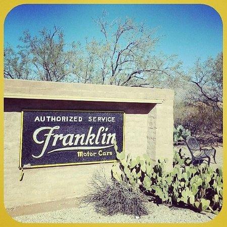Franklin Museum: Sign