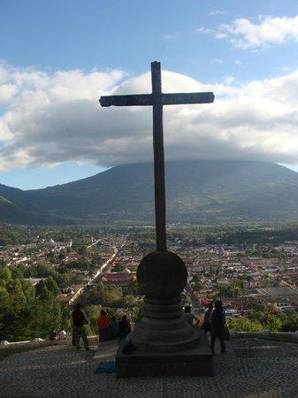 Cerro de la Cruz: Mirante em Antigua