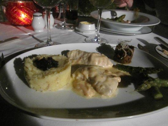 Hotel & Spa Le Doge : Comida deliciosa.