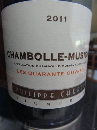 Millesimes a la Carte : One of the wines we tasted