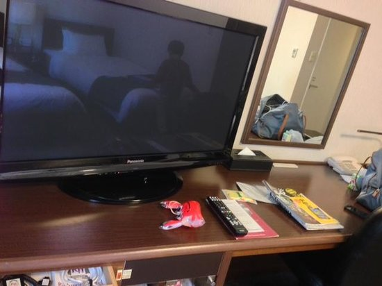 Richmond Hotel Utsunomiya Ekimae: 大きいテレビ